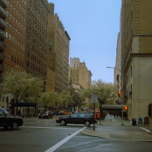 Typical Manhattan Avenue From Woody Allen's Movies